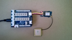 SeeedStudio GPS unit