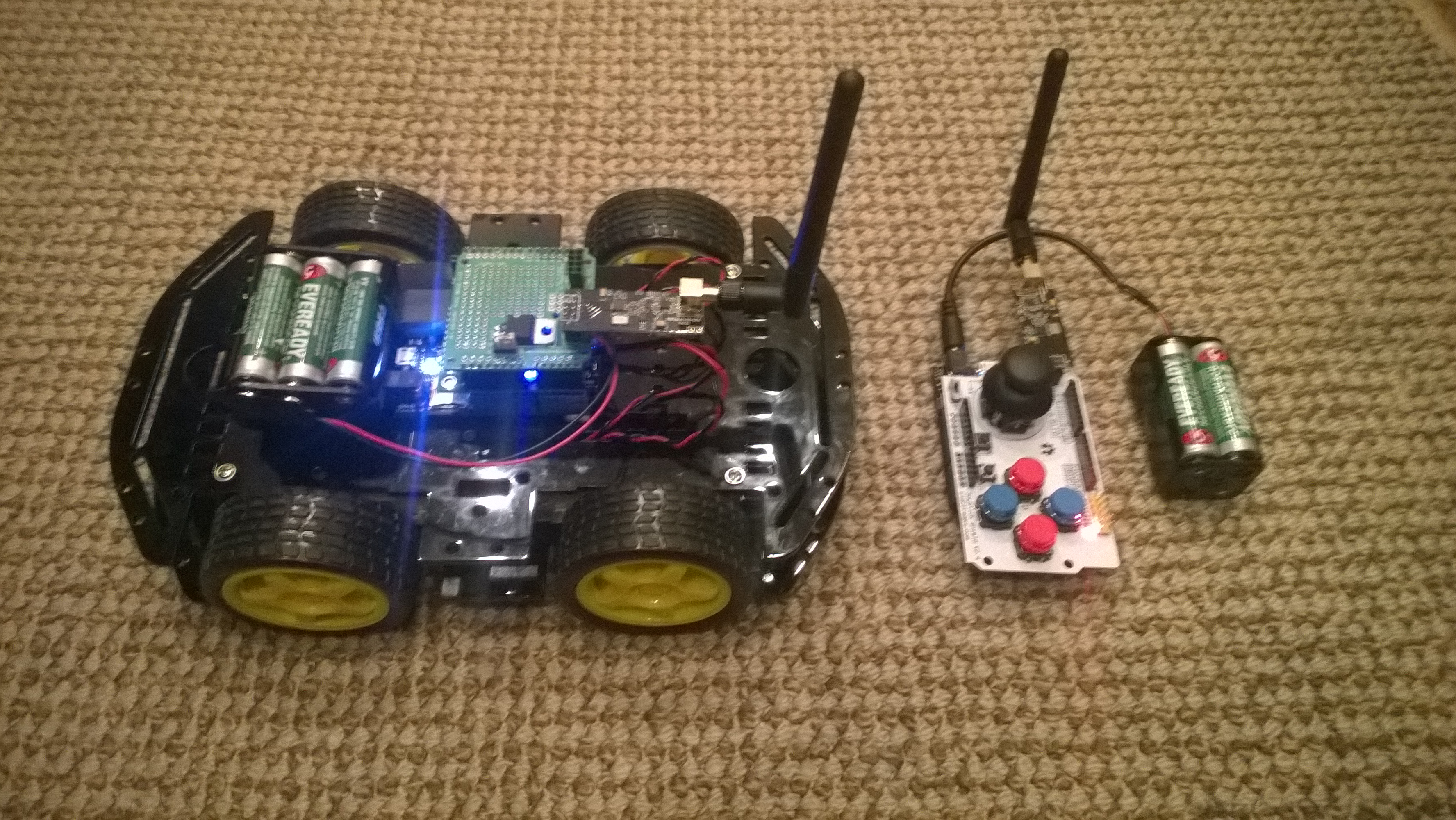 how to build a remote control robot from scratch