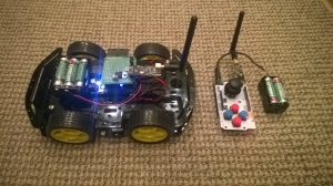 robot and remote control