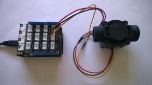 Netduino based water flow sensor