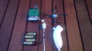 CrazyFlie Netduino Wiichuck based Remote