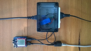 Netduino power consumption monitor