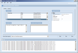 ServiceBus Explorer Displaying event hub power consumption data
