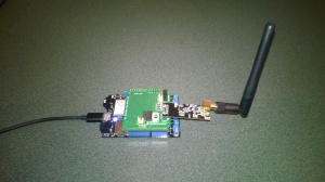 Netduino 3 Wifi with nRF24L01 shield