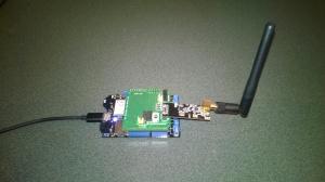 Netduino 3 Wifi with nRF24L01 shield