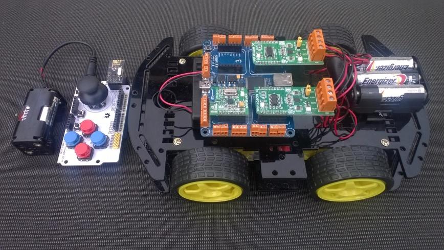 MikrobusNetQual4WDRobot