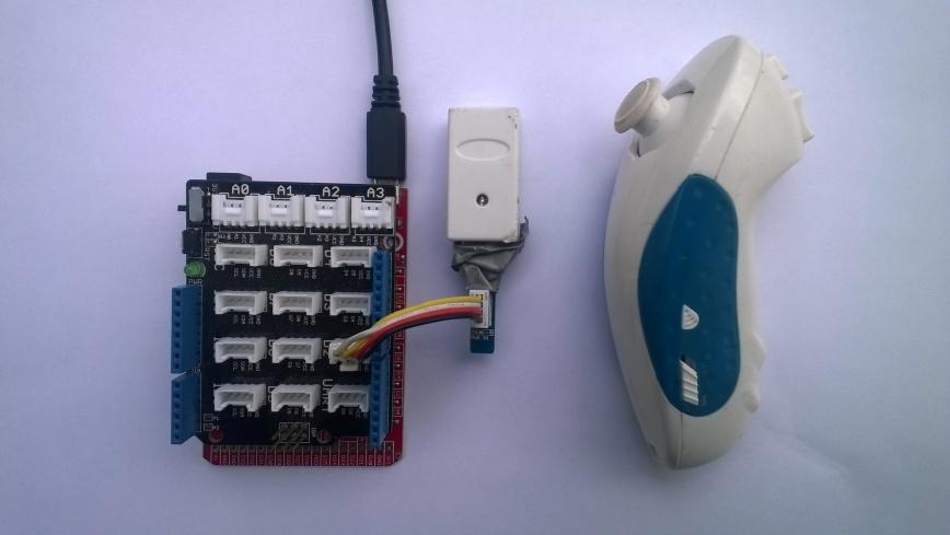 FEZ Lemur Wireless Wii NunChuck PnP interface