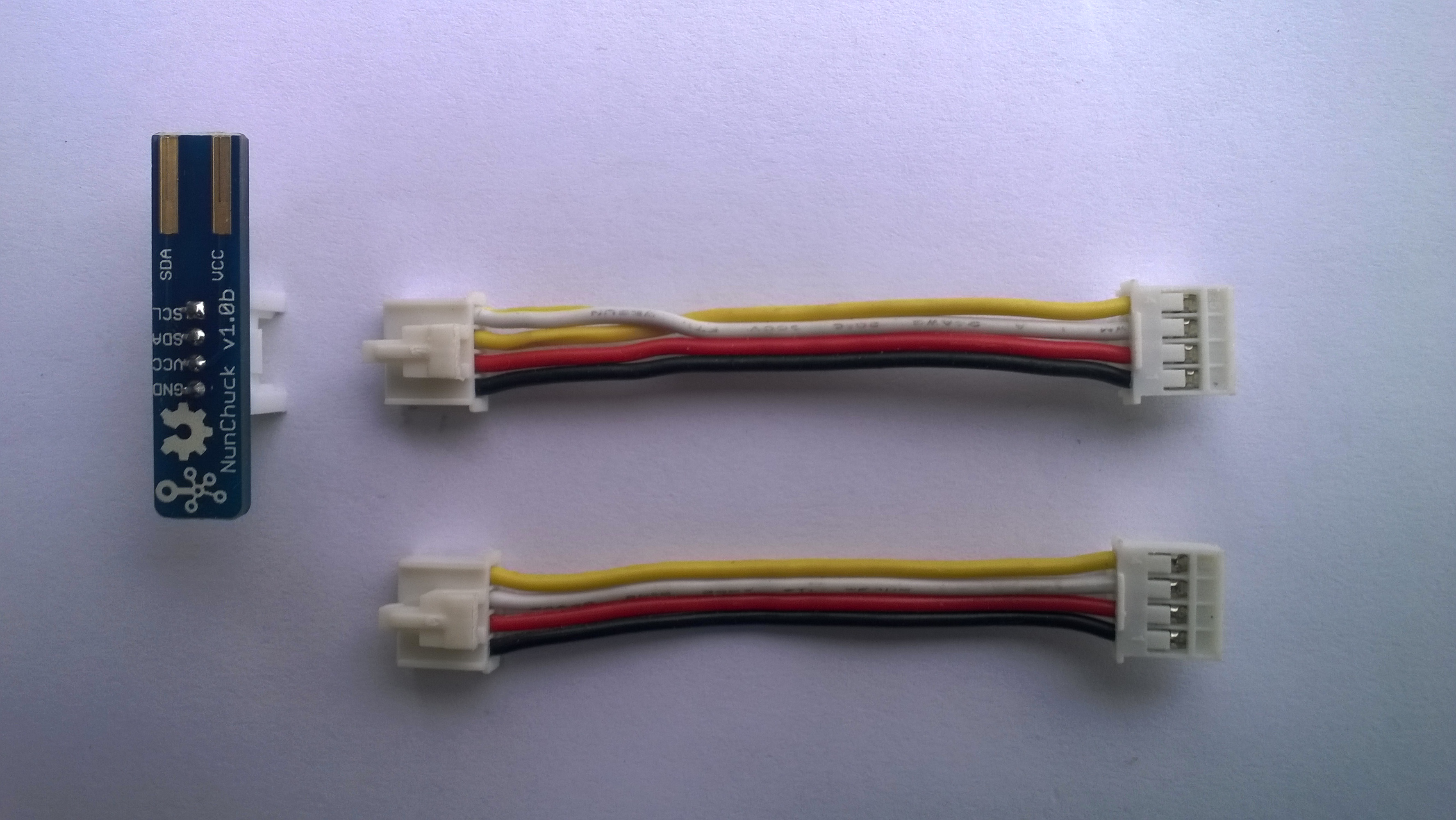 Seeedstudio 5CM cable with SDA & SCL Pins reversed.