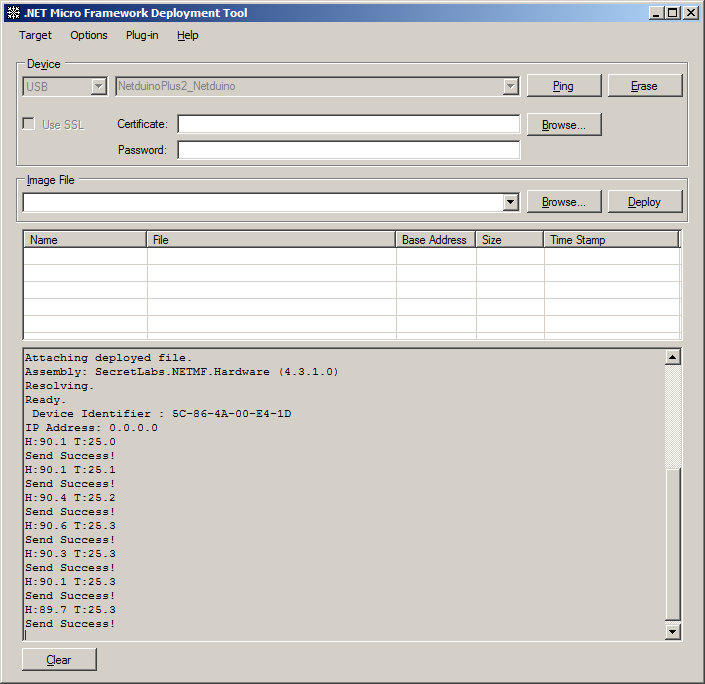 WindowsIoTCentralNetduinoClient